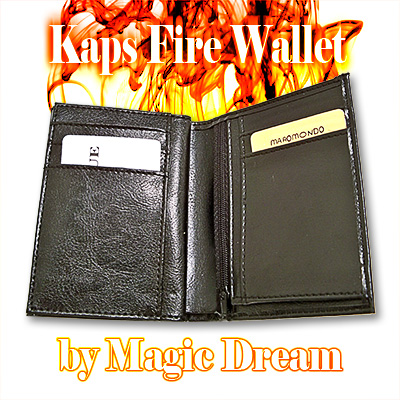 Kaps Fire Wallet (BLACK) - Trick
