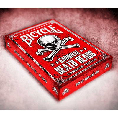 Karnival Death Heads Deck (Carnage Edition) by Big Blind Media - Trick