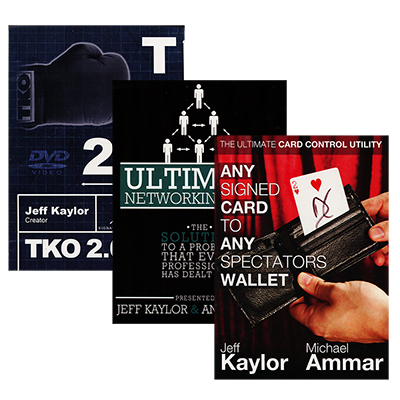 The Jeff Kaylor Sampler Pack (Includes Any Card to Any Spectator's Wallet, TKO2.0, and The Ultimate Networking Tool)  - Trick