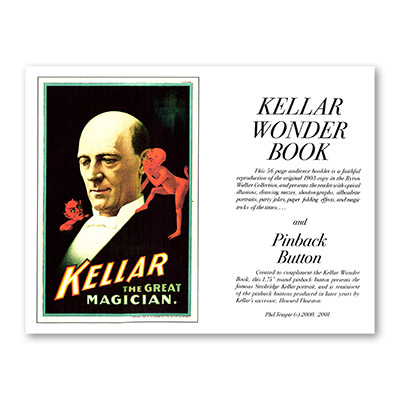 Kellar Wonder Book with Pinback Button