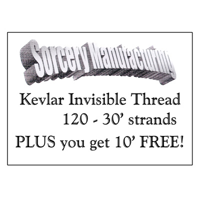 Kevlar Thread 40 ft. by Sorcery Manufacturing - Trick