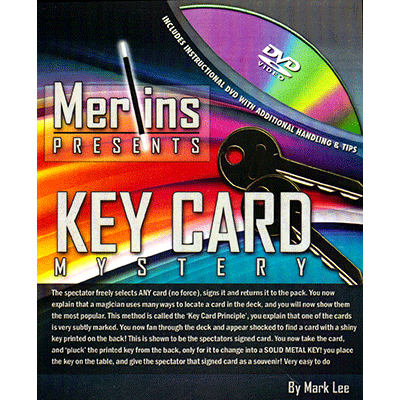 Key Card Mystery by Merlins - Trick
