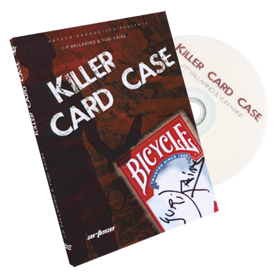Killer Card Case (DVD and gimmick) by Arteco Production - Trick