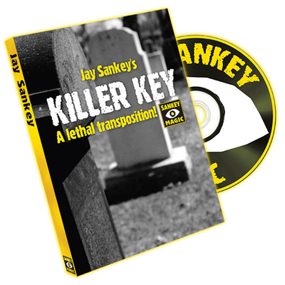Killer Key (with DVD, EURO CURRENCY) by Jay Sankey - Trick