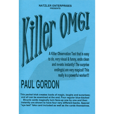 Killer OMG by Paul Gordon - Trick