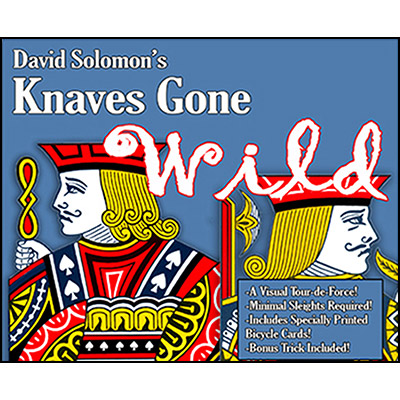 Knaves Gone Wild (With DVD) by David Solomon - Trick