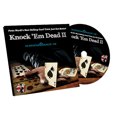 Knock'em Dead 2 (RED) by Peter Nardi and Alakazam Magic