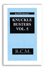 Knuckle Busters #5 Reed McClintock