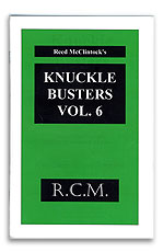 Knuckle Busters #6 Reed McClintock