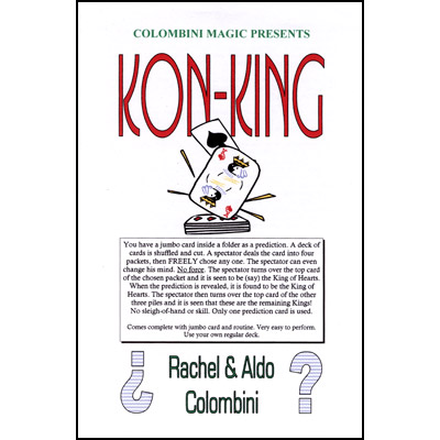 Kon-King by Aldo Colombini - Trick