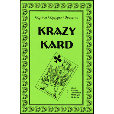 Krazy Kard by Kenton Knepper - Trick
