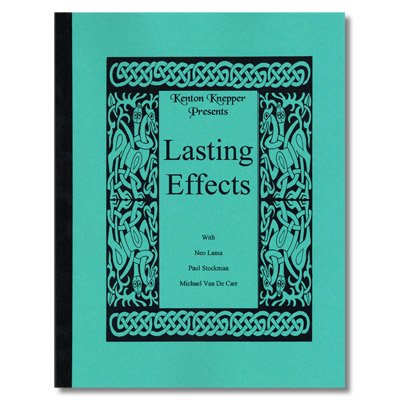 Lasting Effects by Kenton Knepper - Book