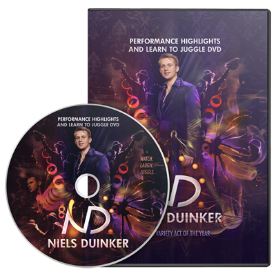 Learn To Juggle - Niels Duinker - DVD