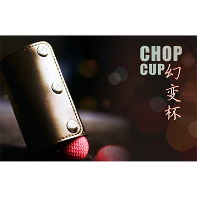 Leather Chop Cup (with Balls)