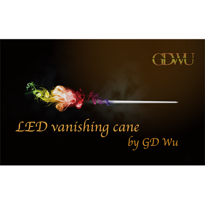LED Vanishing Cane (3 color) by GD Wu - Trick