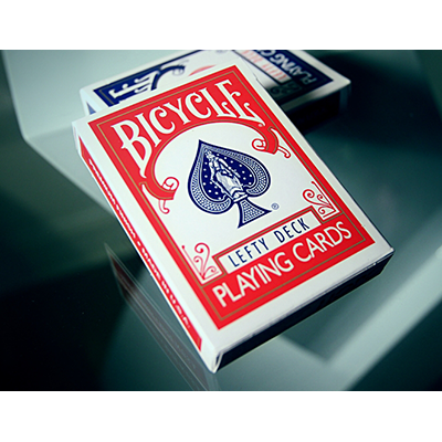Lefty Deck Red by House of Playing Cards