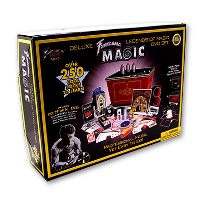 Legends of Magic (With DVD) by Fantasma Magic - Trick