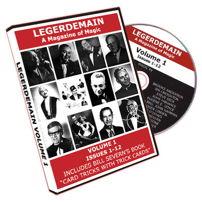 Legerdemain Magazine - Vol.1 (CD)