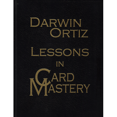 Lessons in Card Mastery (DELUXE - Signed, Numbered, Leatherbound) by Darwin Ortiz - Book