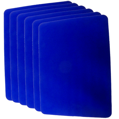 Close Up Pad 6 Pack LARGE (Blue 12.75 inch  x 17 inch) by Goshman