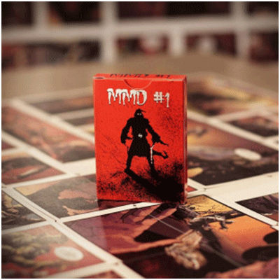 MMD#1 Comic Deck by Handlordz, LLC - Trick