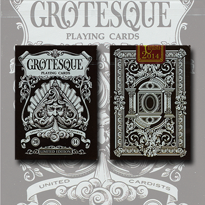 Limited Edition Grotesque Deck by Lotrek - Trick