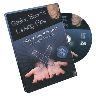 Gaetan Bloom's Linking Pins - DVD by Mayette Magie Moderne
