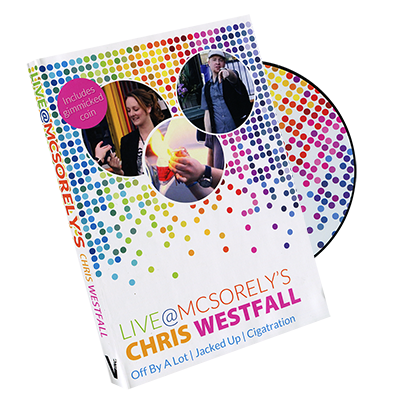 Live at McSorely's Euro version (DVD and Gimmick) by Chris Westfall and Vanishing Inc. - DVD