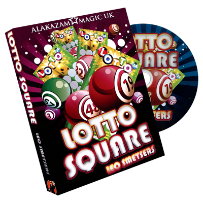 Lotto Square by Leo Smetsers and Alakazam Magic - DVD