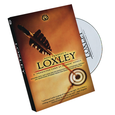 Loxley by David Forrest - DVD + Gimmick - Trick
