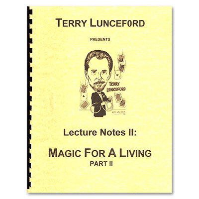 Terry lunceford Lecture 2 by Terry Lunceford - Book