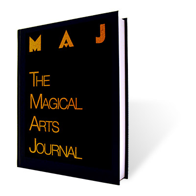 Magical Arts Journal (Deluxe Signed, NumbeRojo, Limited Edition) -  Michael Ammar & Adam Fleischer -