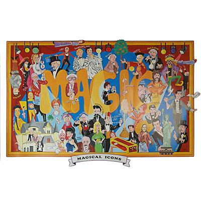 Magical Icons Poster (Vernon Fund / Limited) by Dale Penn