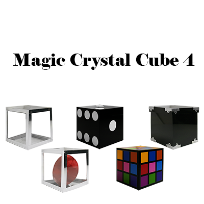 Magic Crystal Cube 4 by Tora Magic