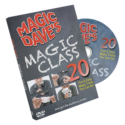 Magic Dave's Magic Class by David Williamson - DVD