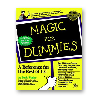 Magic For Dummies by David Pogue - Book