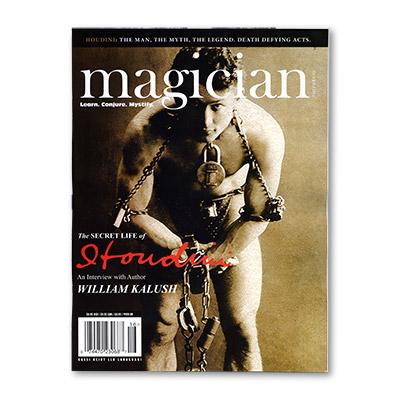 Magician Magazine HOUDINI Issue - Libro de Magia