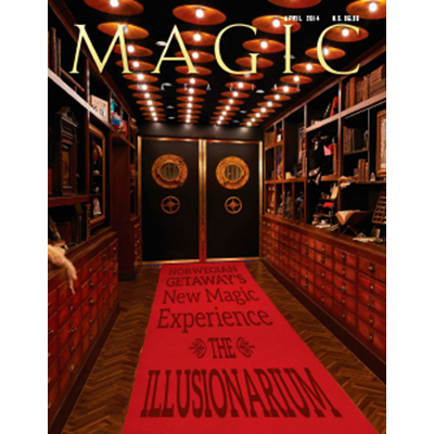 Magic Magazine April 2014 - Book