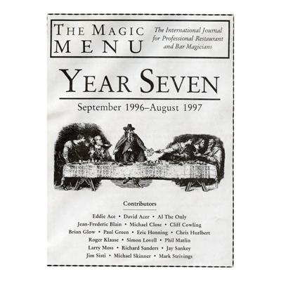 Year 7 : The Magic Menu - Libro de Magia