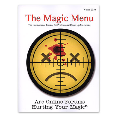 Magic Menu (Winter 2010) - Book