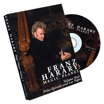 Magic Planet vol. 1: Pilot Episode & Las Vegas - Franz Harary & The Miracle Factory - DVD
