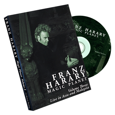 Magic Planet vol. 3: Live in Asia & Malaysia  - Franz Harary & The Miracle Factory - DVD