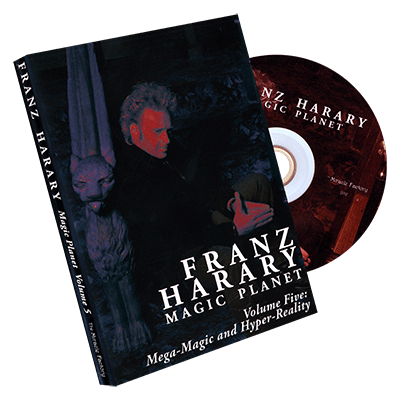 Magic Planet vol. 5: Mega-Magic & HyperReality  - Franz Harary & The Miracle Factory - DVD