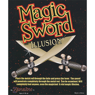 The Magic Sword by Zanadu Magic - Trick
