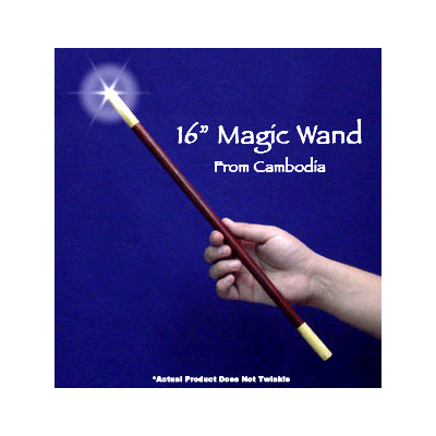 Magic Wand 16 inch E xotic Woods - Trick