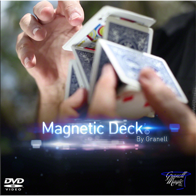 Magnetic Deck (DVD and Gimmick) by Granell Magic Inc - Trick