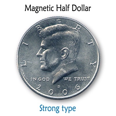 Magnetic US Half Dollar (SUPER STRONG) by Kreis Magic