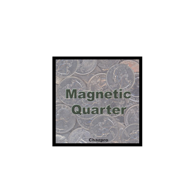 Magnetic Quarter by Chazpro Magic - Trick
