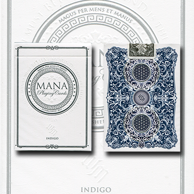 Mana Playing Cards (Indigo) by Erik Mana - Trick