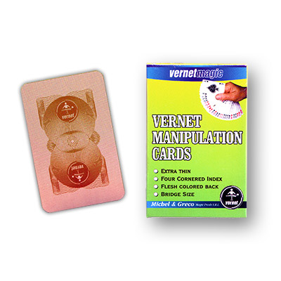 Vernet Manipulation cards (FLESH BACK,BRIDGE SIZE) by Vernet - Trick